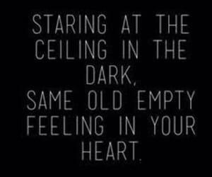 quotes, empty, and dark image