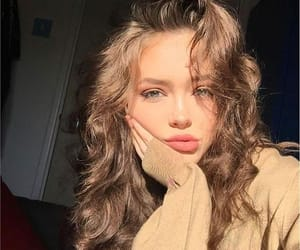 girl, beauty, and makeup image