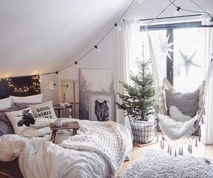 cozy, bedroom, and decor image
