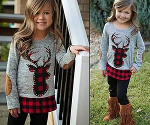christmas, clothes, and girls image