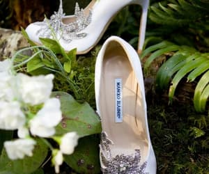 shoes, twilight, and wedding image