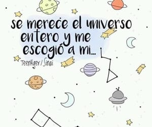 frases, universo, and love image