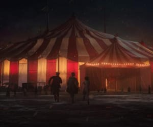 circus, red, and the greatest showman image
