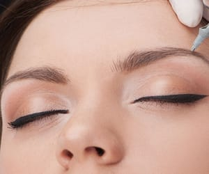 eyebrow tattoo, permanent eyeliner, and semi permanent make up image