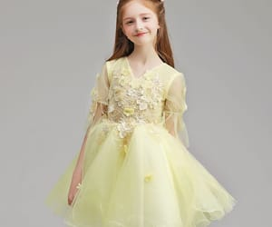 yellow dress, 2019, and wedding party dresses image