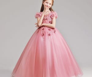 tulle, wedding party dresses, and flower girl dresses image