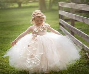 cute flower girl dress and flower girl dress cheap image