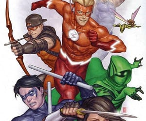 DC, rebirth, and teen titans image