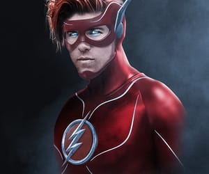 DC, flash, and ryan reynolds image