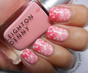 design, nails, and pink image