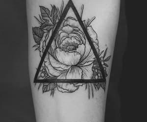 rosa, tatto, and tatuajes image