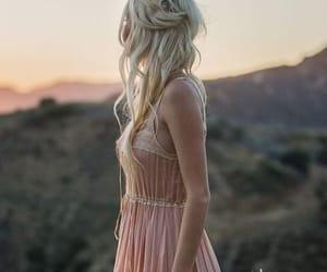 dress, beauty, and girl image