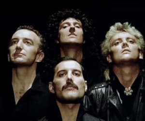 Freddie Mercury, Queen, and funny image