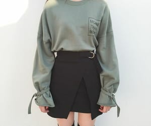 clothes, sexy, and short skirt image