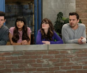 zooey deschanel, new girl, and max greenfield image
