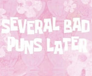 pink, aesthetic, and puns image