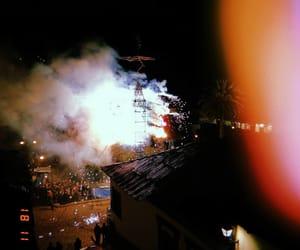 castillo, fiesta, and fire image