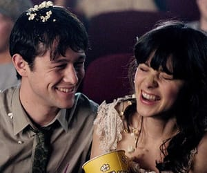 500 Days of Summer, zooey deschanel, and Joseph Gordon-Levitt image