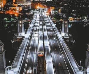 city lights, cityscape, and massachusetts image