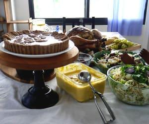dinner, food, and turkey image
