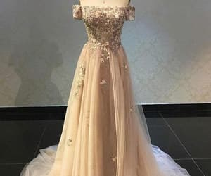 appliques prom dress and prom dress a-line image