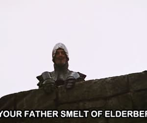 father, John Cleese, and python image