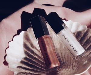 makeup and lip gloss image