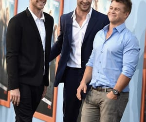 Avengers, hemsworth brothers, and the hunger games image