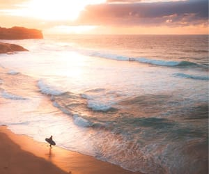beach, beautiful, and explore image