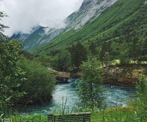 beautiful, landscape, and river image