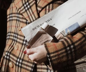 aesthetic, Burberry, and fashion image
