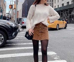 shoes, skirt, and street image