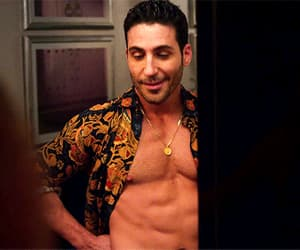 funny, handsome, and miguel angel silvestre image