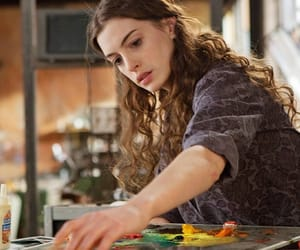 actress, Anne Hathaway, and art image