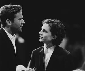 timothee chalamet, armie hammer, and couple image