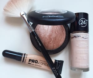Brushes, makeup, and revolution image