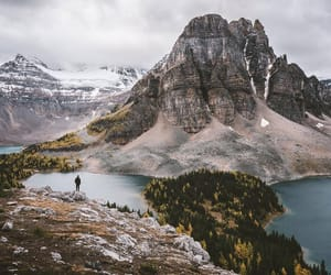 mountains, nature, and view image