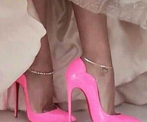 fucsia, hight, and rosa image