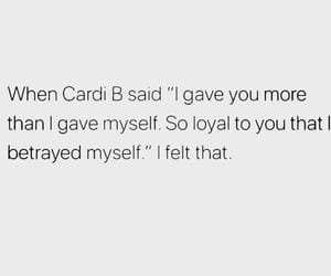 quotes, love, and cardi b image