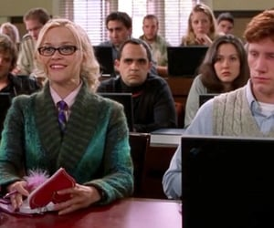 college, elle woods, and harvard image