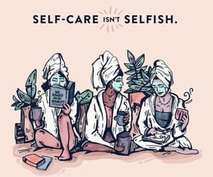 self care, quotes, and self love image