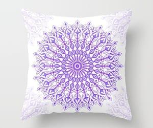 mandala, pillow, and homedecor image