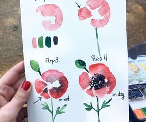 how to draw flower image