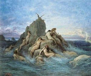 art and mermaid image