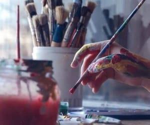 art, wallpaper, and watercolour image