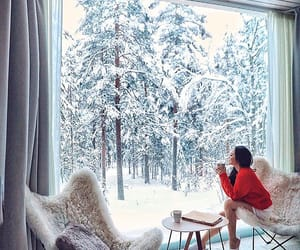 coffee, cold, and cozy image