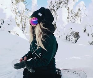 cold, fitness, and girl image