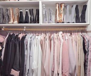 closet, wardrobe, and clothes image