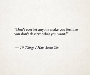 quotes, 10 things i hate about you, and life image