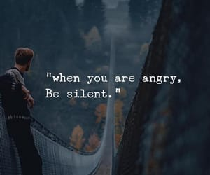 angry, quotes, and silent image